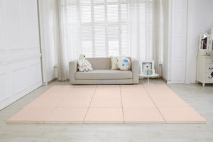 Retro Cube playmats - Soft pink