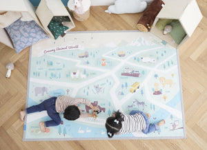 Creamy Play Rug - Safari