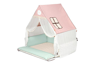 COMBINATION OFFER: Inua Bumper Mat Mini - Mint + Inua Haus Mini - Pink