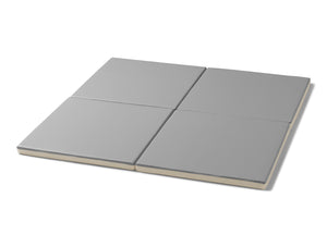 Retro Cube Playmats - Grey Mono