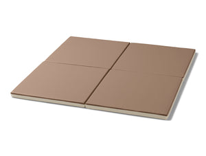 Retro Cube Playmats - Hush Brown