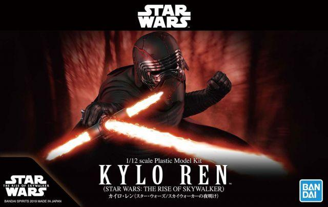 Kylo Ren (The Rise of Skywalker Ver.) 1/12 Scale Model Kit