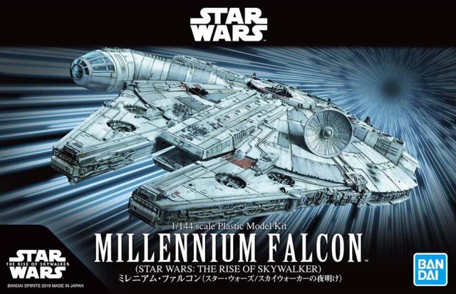 Millennium Falcon (The Rise of Skywalker) 1/144 Scale Model Kit