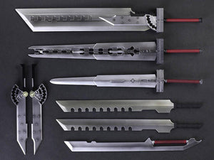 FF VII Advent Children Play Arts Kai: Cloud Strife & Fenrir - LIMITED