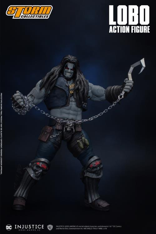 Injustice: Gods Among Us: Lobo 1/12 Scale Figure