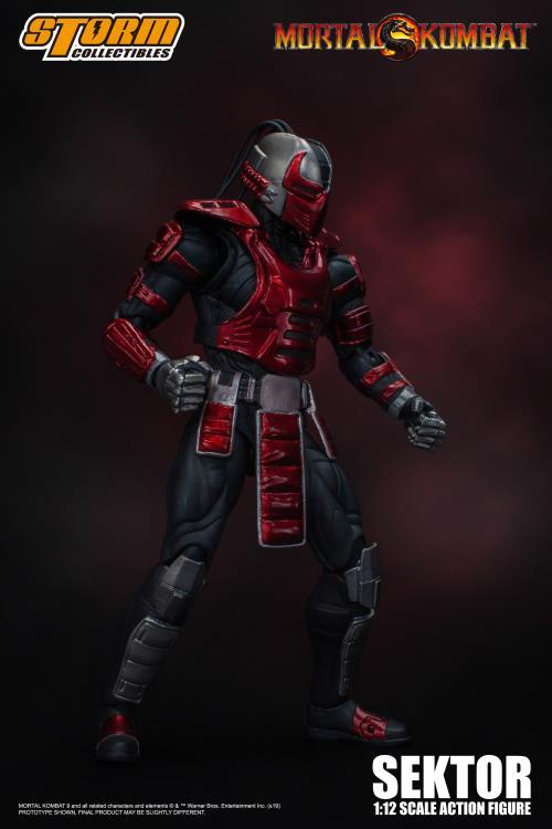 Mortal Kombat VS Series: Sektor 1/12 Scale Figure