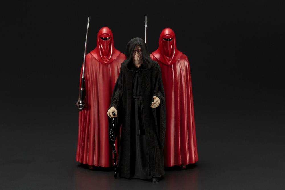Star Wars - Emperor Palpatine & Royal Guard 3-Pack ARTFX+