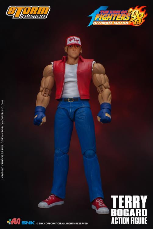 The King of Fighters '98: Terry Bogard 1/12 Scale Figure
