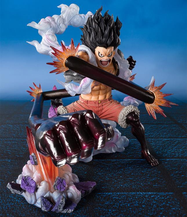 Figuarts ZERO Monkey D. Luffy Gear 4 - Snakeman King Cobra