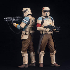 Star Wars - Rogue One Scarif Stormtrooper 2-Pack ARTFX+ Statue
