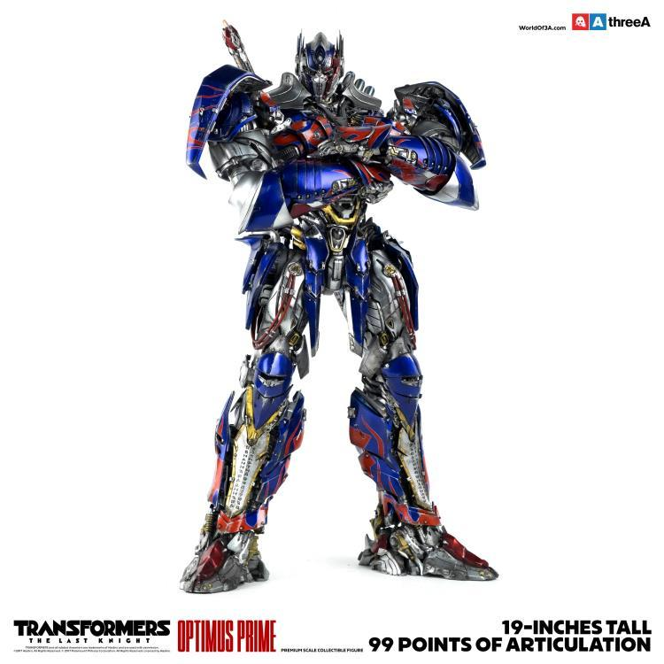 3A Transformers: The Last Knight Optimus Prime Premium Scale Collectible Figure