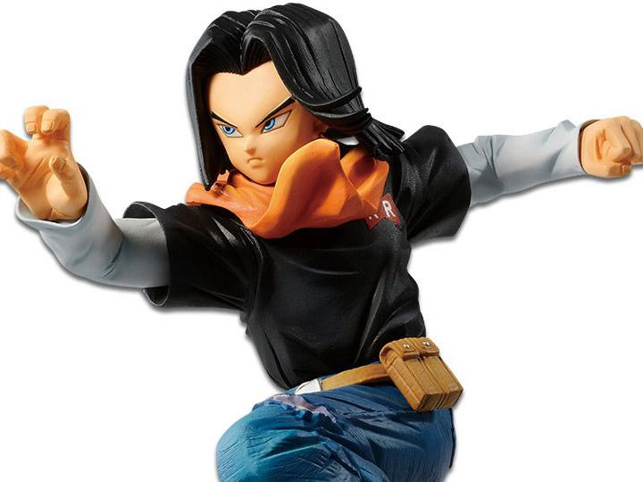 Dragon Ball FighterZ Android 17 Figure