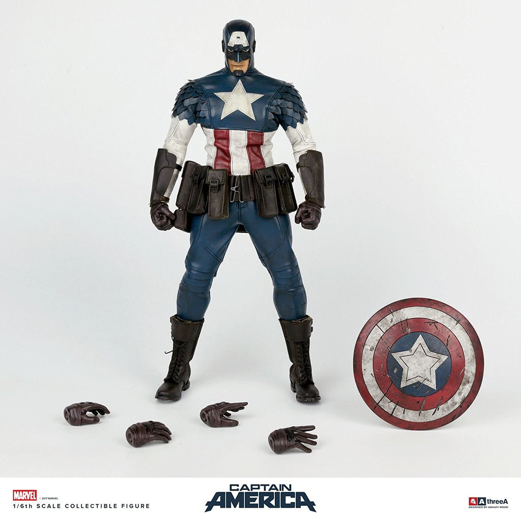 3A X Marvel Captain America 1/6 Figure