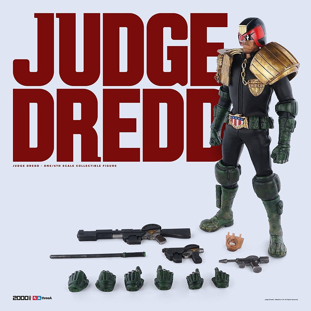 3A 2000 AD Judge Dredd 1/6 Figure