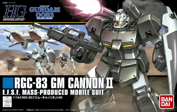 HGUC#125 GM Cannon II