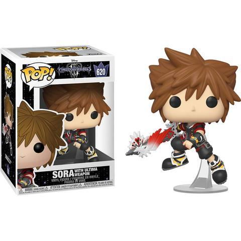 620 Kingdom Hearts - Sora with Ultimate Weapon