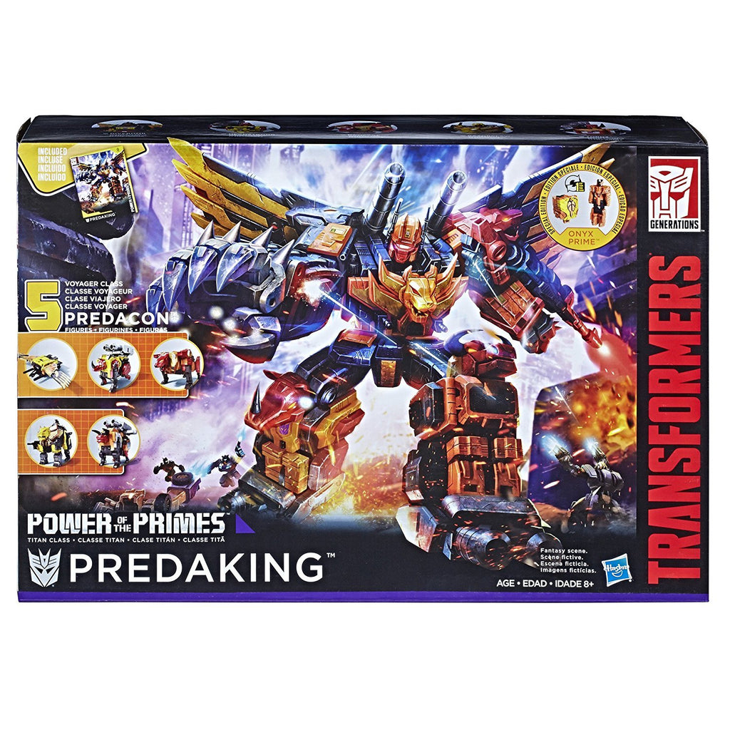 Transformers Generations Predaking