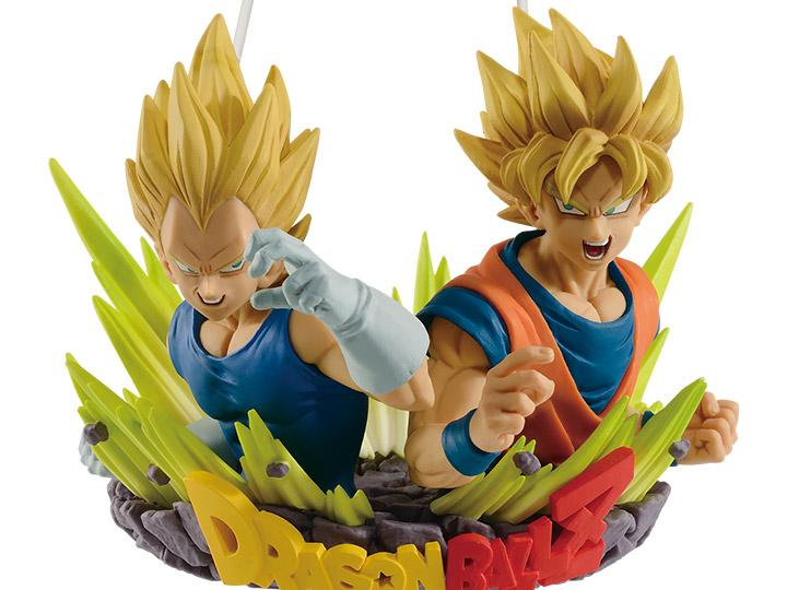 Dragon Ball Z Com Figuration Gogeta Vol.2 Super Saiyan Vegeta & Goku