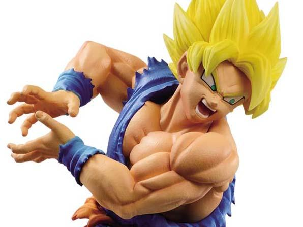 Dragon ball Super Warriors Battle Retsuden - SSJ Goku Figure