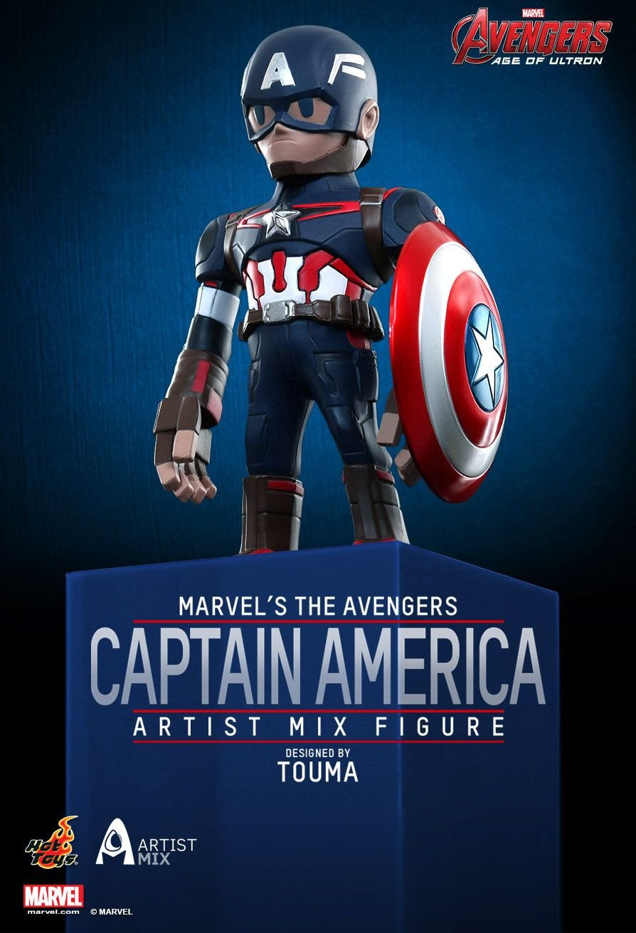 Captain America - Artist Mix by Touma - AMC002