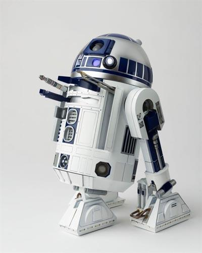 Chogokin - R2-D2 Perfect Model Action Figure (Star Wars Episode IV)