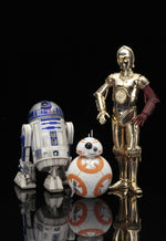 Star Wars - Episode VII Force Awakens C-3PO & R2-D2 with BB-8 ARTFX +