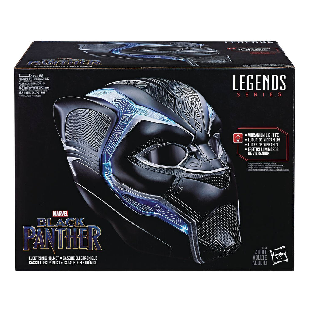 Marvel Legends Black Panther 1:1 Wearable Helmet