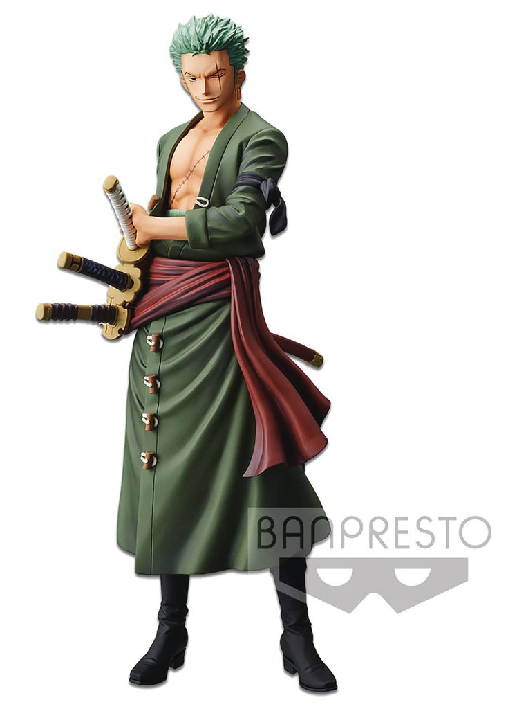 One Piece Grandista The Grandline Men Zoro Figure