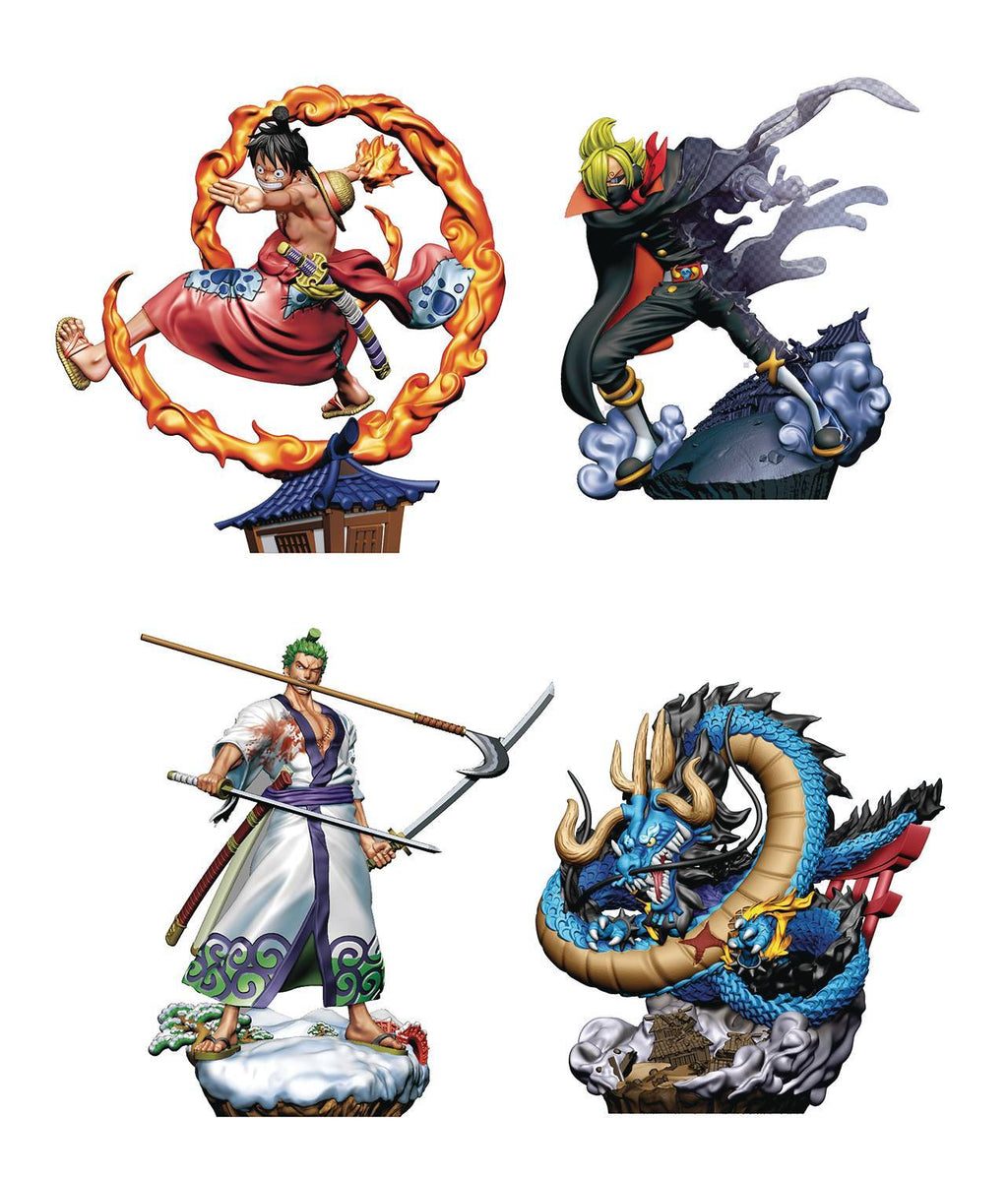 One Piece Logbox Re:Birth Wano Country Vol.1 Box of 4 Figures