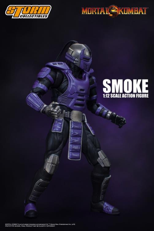 Mortal Kombat VS Series: Cyber Ninja Smoke 1/12 Scale Figure