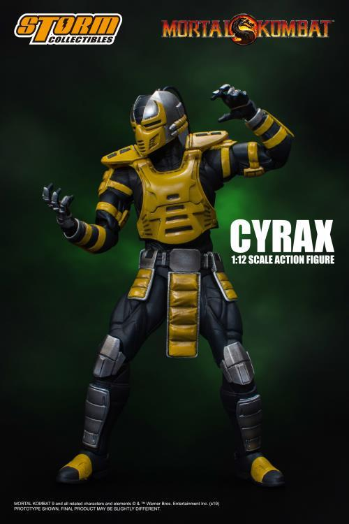 Mortal Kombat VS Series: Cyrax 1/12 Scale Figure