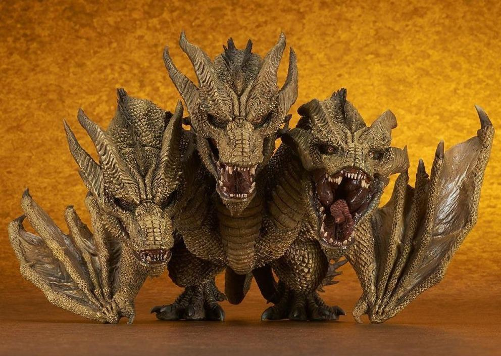 Godzilla: King of the Monsters DefoReal King Ghidorah