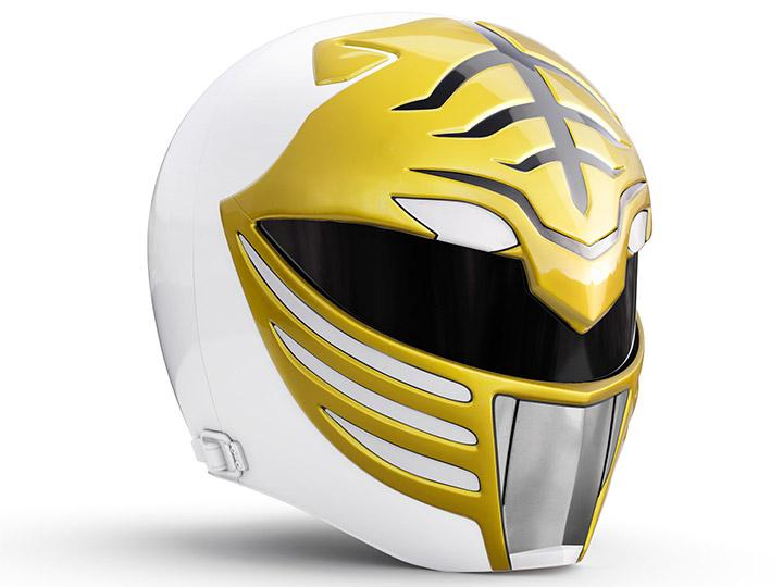 Mighty Morphin Power Rangers Lightning Collection - White Ranger 1:1 Scale Wearable Helmet