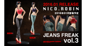 One Piece DXF Jeans Freak Vol.3 Nico Robin