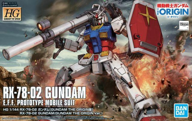 HG#026 RX-78-02 Gundam (Gundam The Origin Ver.)