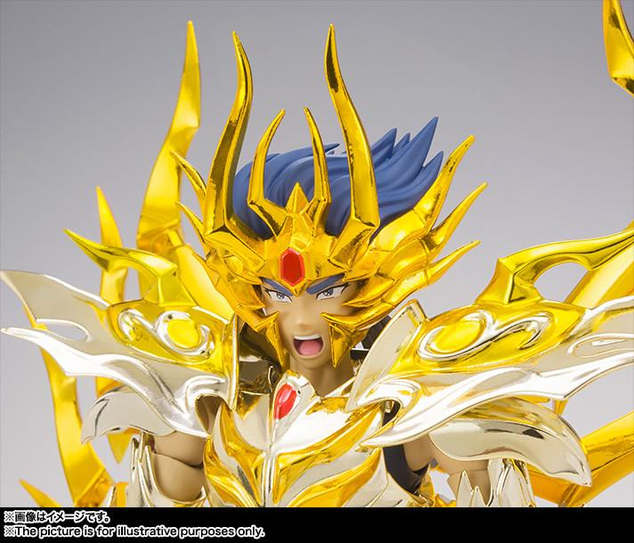 Saint Cloth Myth EX: Cancer Deathmask God Cloth Soul of Gold