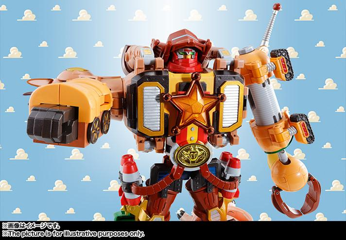 Chogokin - Toy Story Super Combined Woody Robo: Sheriff Star