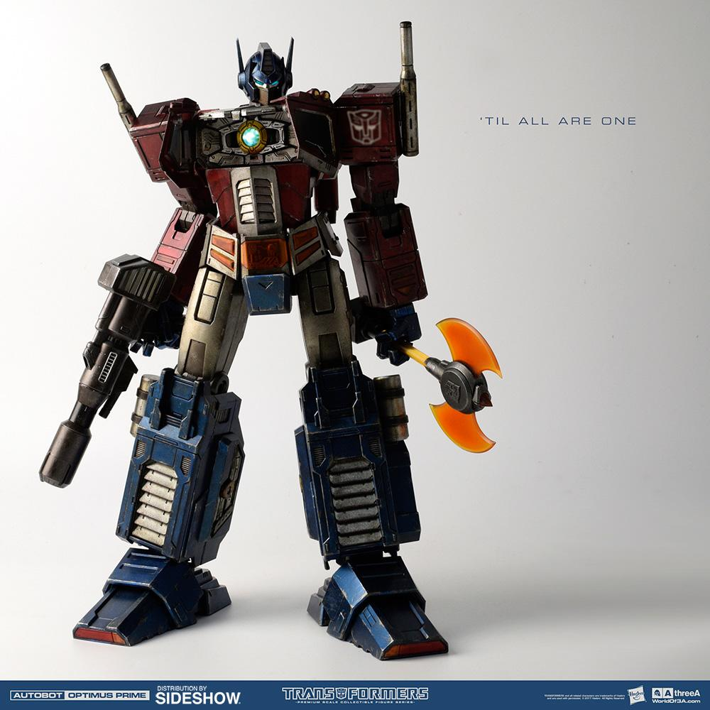 3A Transformers: Optimus Prime Classic Edition Figure