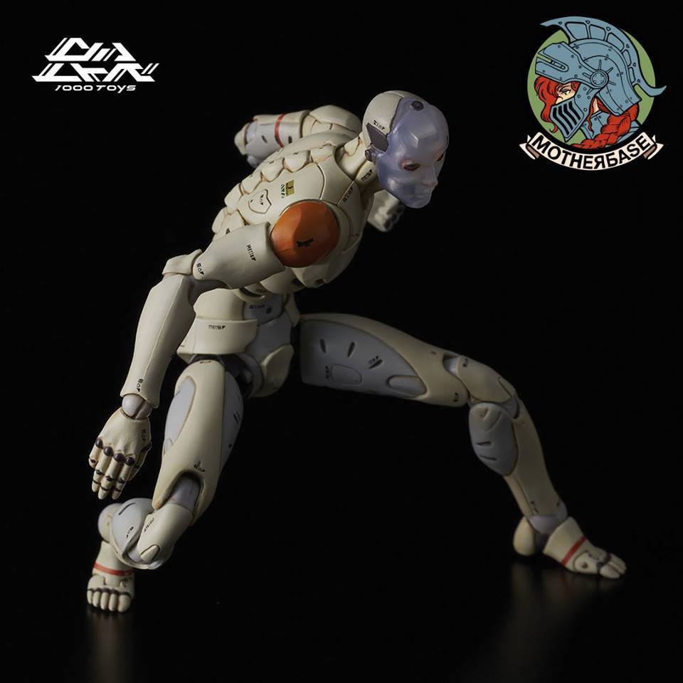 TOA Heavy Industries -  Synthetic Human Test Body 1/12 Figure