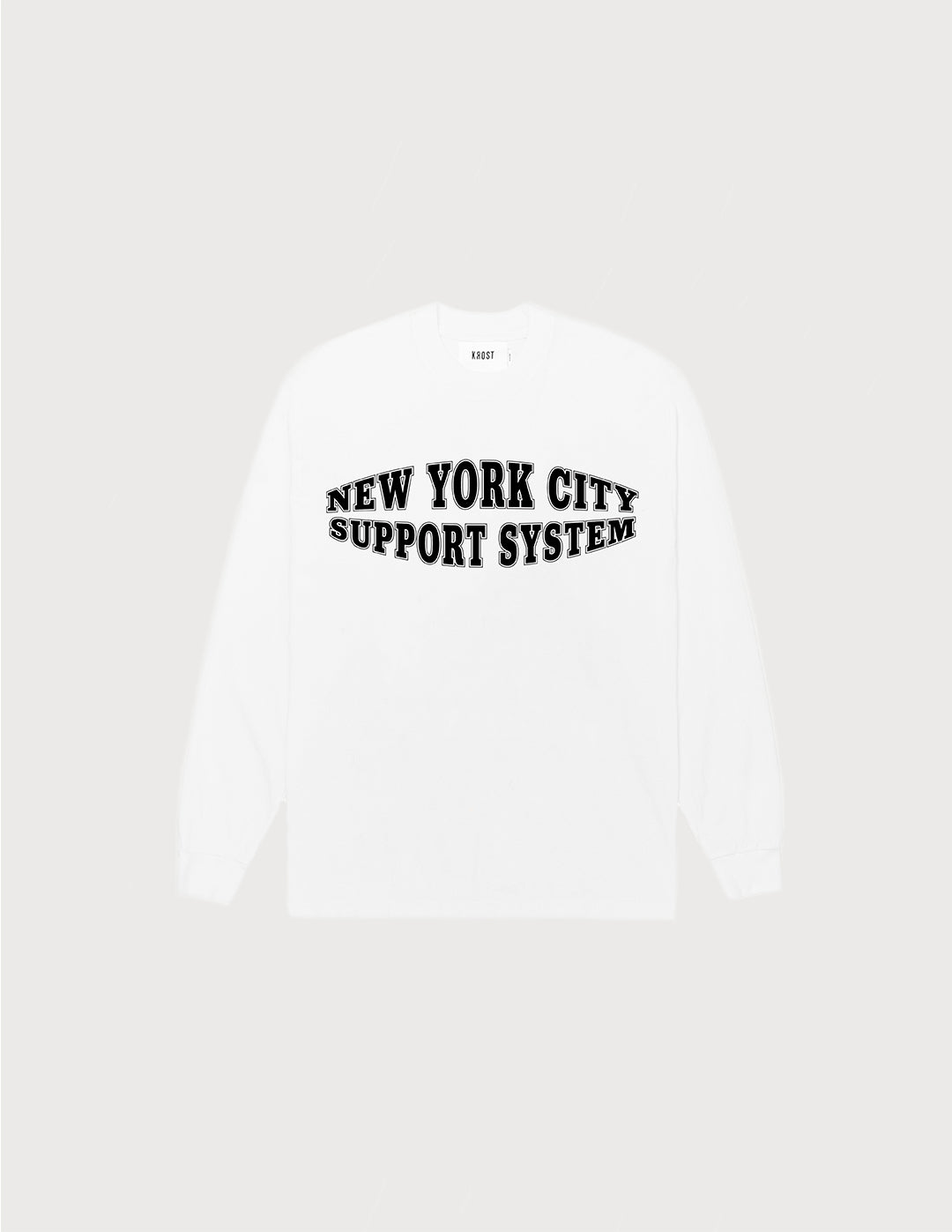 NYC SUPPORT SYSTEM TEE