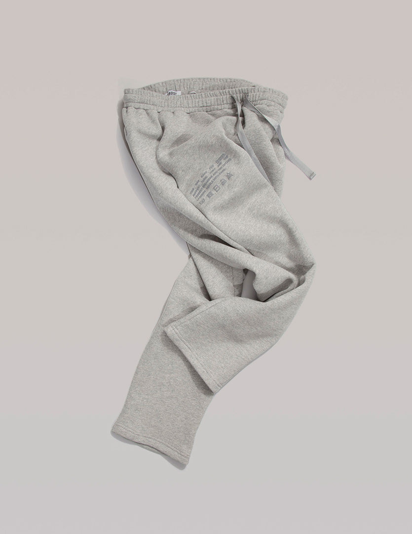 CARE LABEL INSTRUCTIONS SWEATPANTS