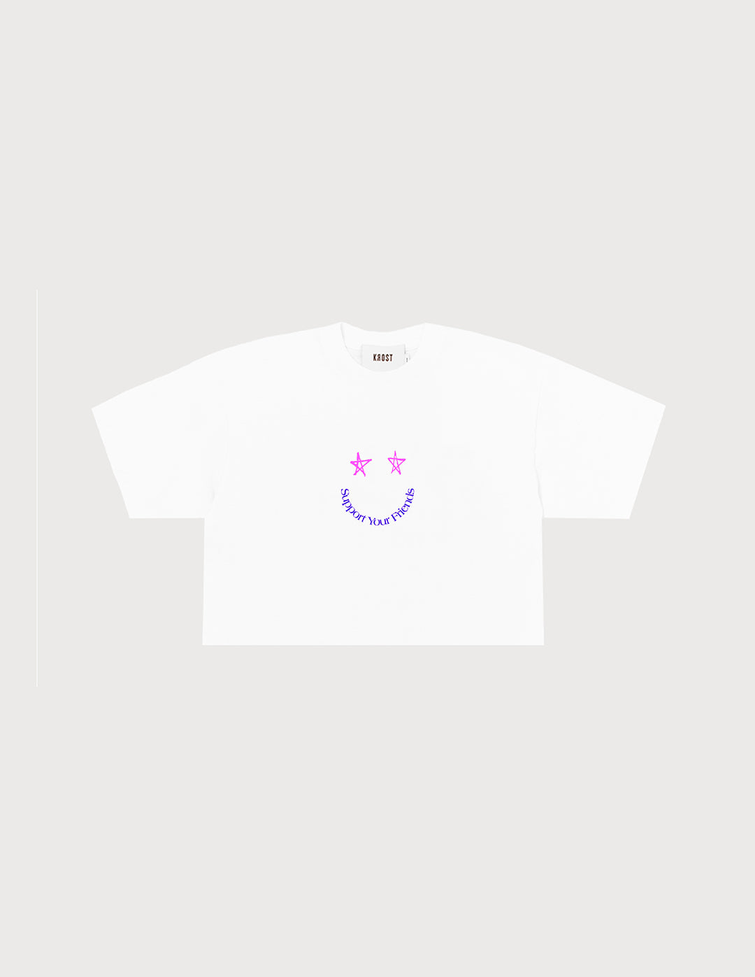 SYF Smile Cropped Tee