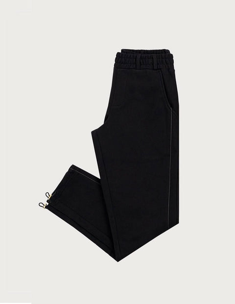 Piping Fleece Trousers
