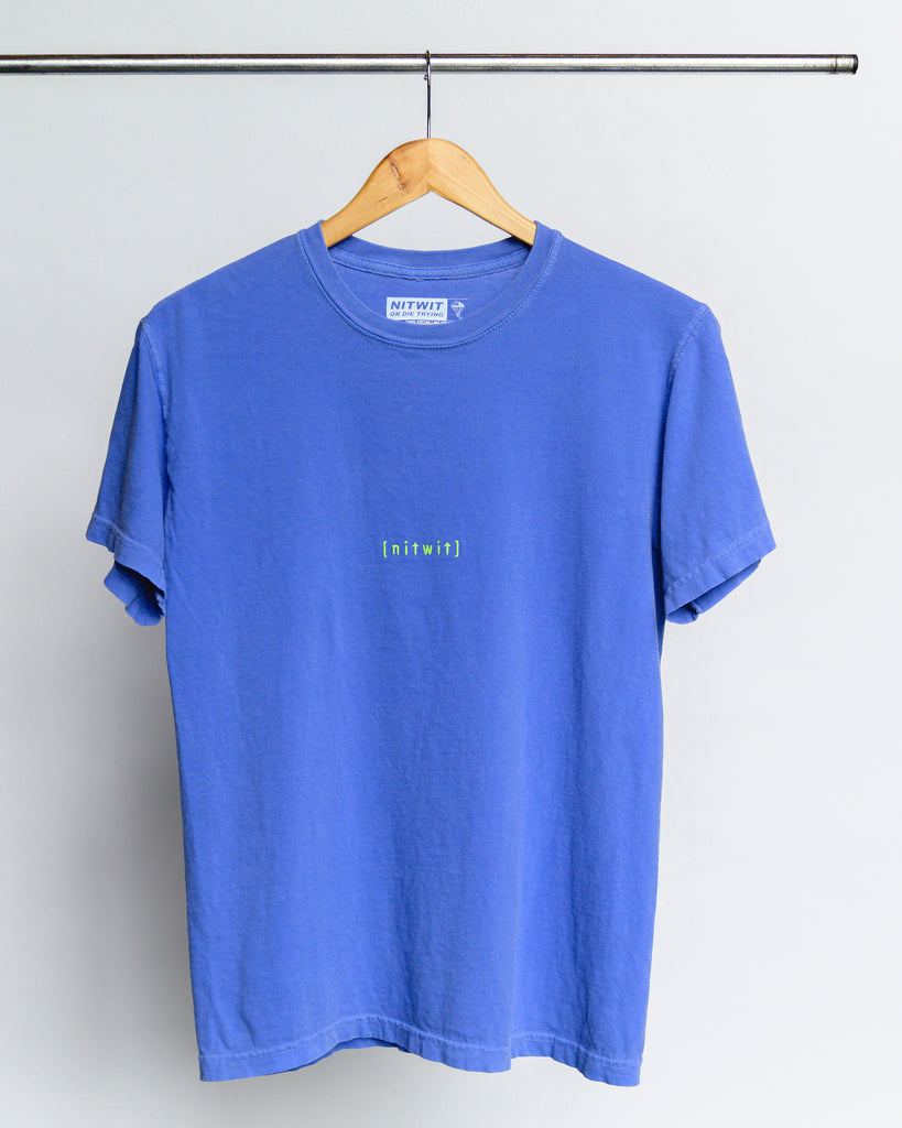 Bracket Embroidery Tee
