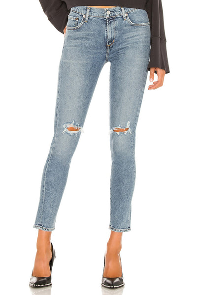 Agolde Sophie Mid Rise SOPHIE MID RISE SKINNY ANKLE IN COASTAL Style Number A123B-3002 CSTAL;Women's Mid Rise Jeans;AGOLDE JEans;Women's Premium Denim;Women's Online Clothing and Accessories Boutique;Bfree_Boutique;Shopbfree;MyBfreeStyle;BfreeBAbe;