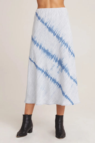 Bias Midi Skirt Crystal Blue