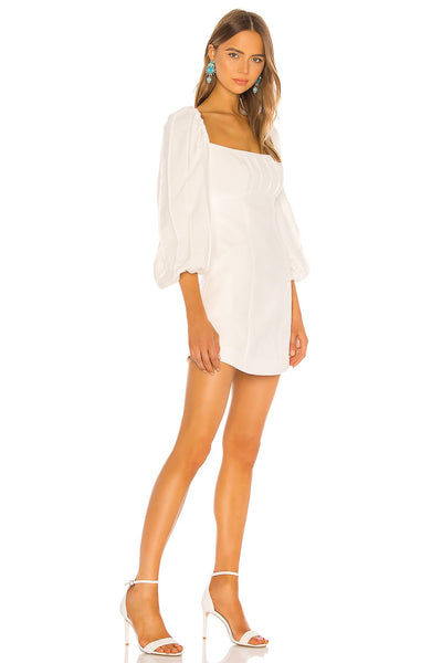 C Meo Collective Over Again Long Sleeve Dress Style 102001030 in Ivory on Shopbfree.com
