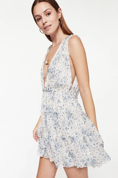 Cami NYC Egle Dress in Denim Wallflower
