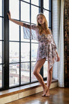 Free People Clothing Dream State Set Style Number OB1281260 in Lilac Combo;Women's Floral Print Short Set;Women's Floral Kimono and Short Set;Women's Spring Lounge Set;Free People Clothing;Women's Online Clothing and Accessories Boutique;Shopbfree;shopbfree.com;Bfree Warwick;Bfree Wyckoff;Bfree_boutique;bfreebabe;MyBfreeStyle