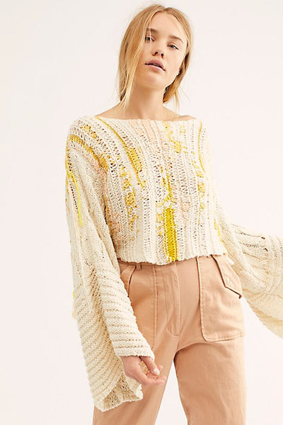 Free People Drive Through Sweater Back in Stock on Shopbfree.com